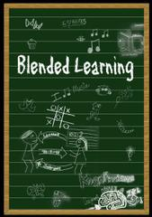 Cover Blended Learing (Layout Benjamin Strauss)
